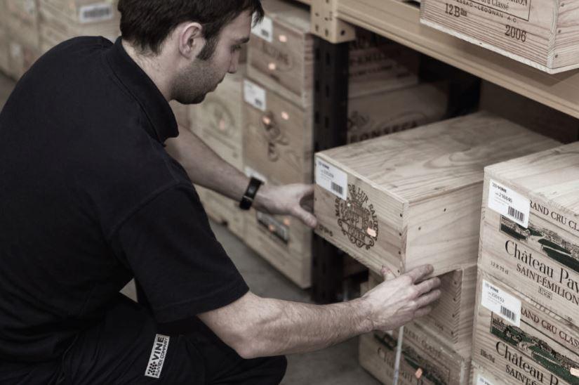 Spitzenweine gelagert mit VINE (LIV-EX) - Bordeaux, London oder Hong Kong