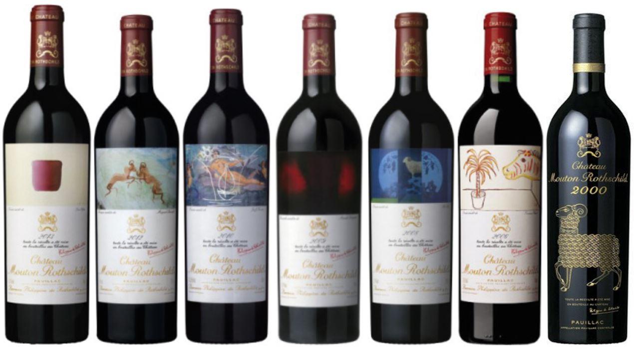 Wein als Anlage-Mouton Rothschild
