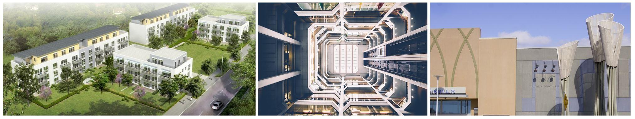 Immobilien: Mehrfamilienhäuser - Gewerbezentren - Shoppingcenter
