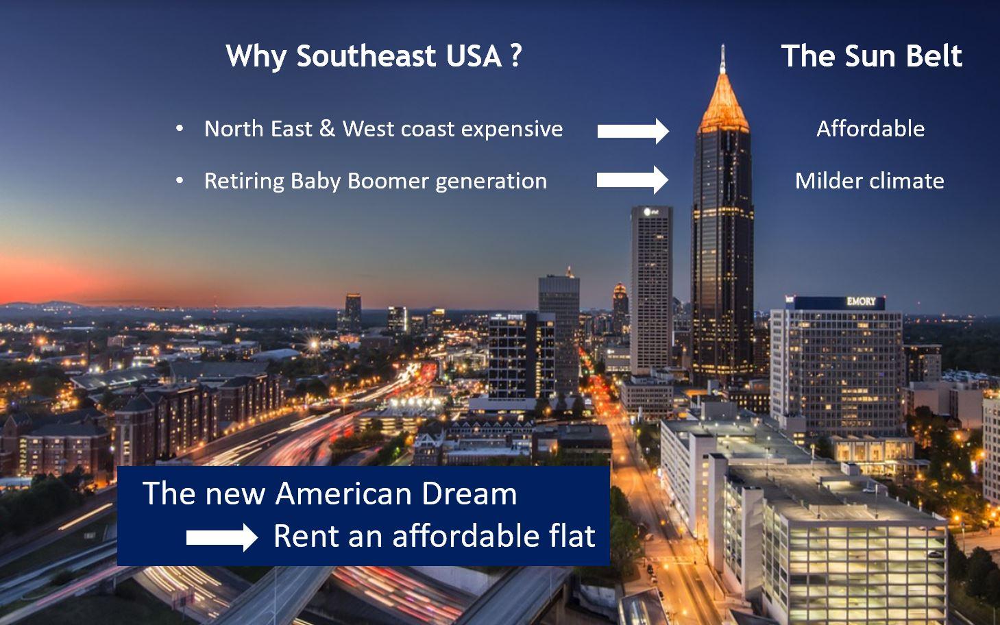Multi Family Real Estate Bond - The Sun Belt - USA - Atlanta
